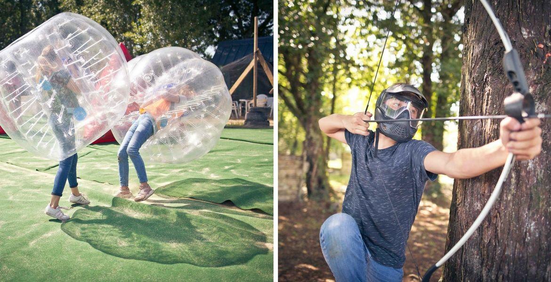 Archery et Bubble foot