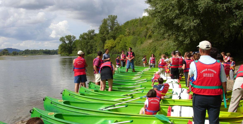 Évasion groupée sur la Loire
