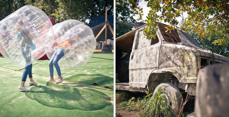 Paintball kid et Bubble foot