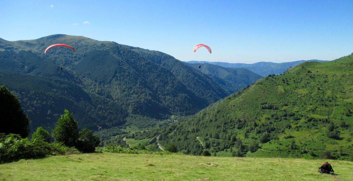Les stages progression en parapente Option vol montagne / bivouac