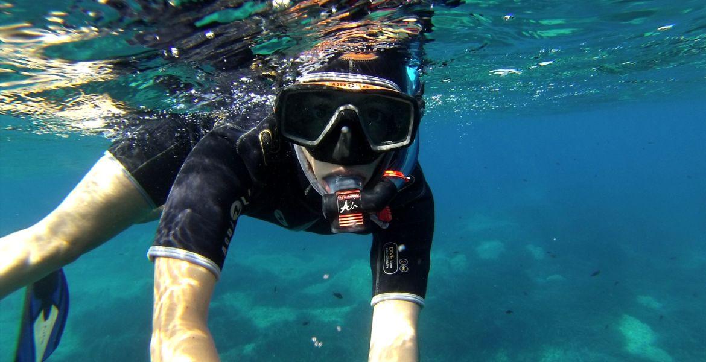 Snorkeling - Découverte dans la baie d'Algajola