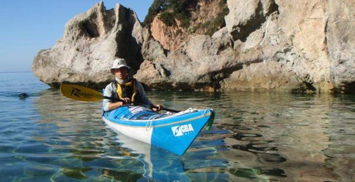 Sunrise kayak tour in Propriano