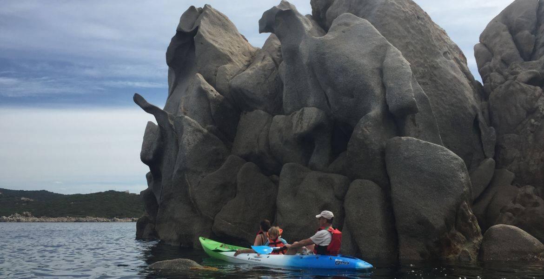 Balade journée en kayak dans le Golfe du Valinco à Propriano