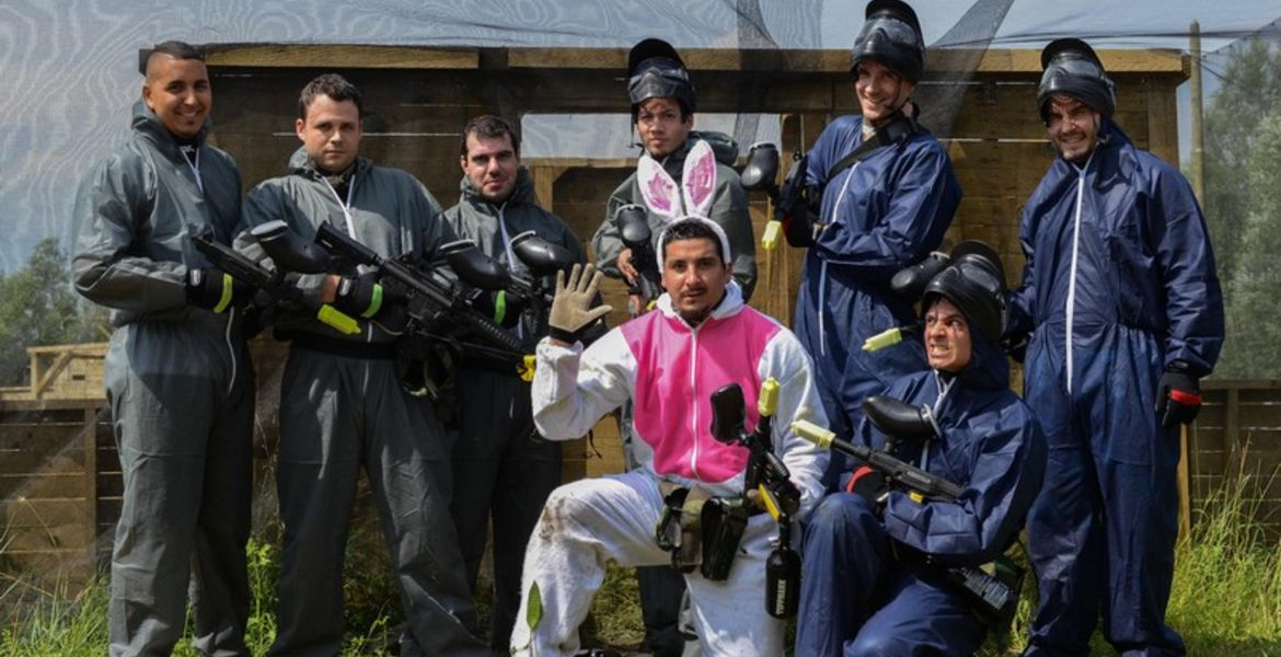 Paintball Enterrement vie de célibataire EVG EVJF