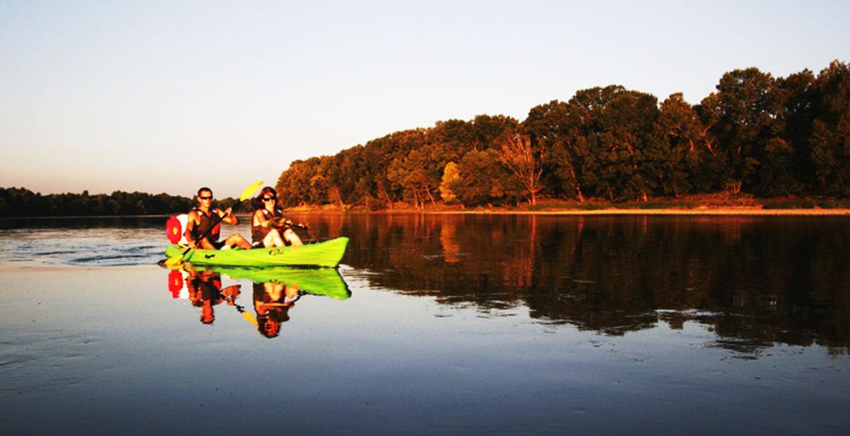 Descente demi journée en canoë - 10km