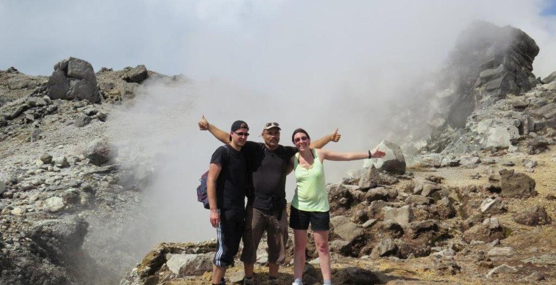 Randonnée guidée au volcan de La Soufrière