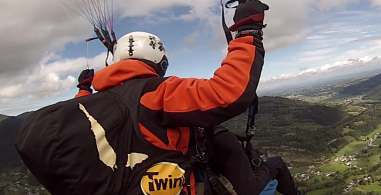 Vol découverte du parapente en tandem | Bagnères-de-Bigorre