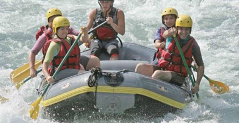 Descente en Rafting  sur le Gave de Pau demi journée ou journée