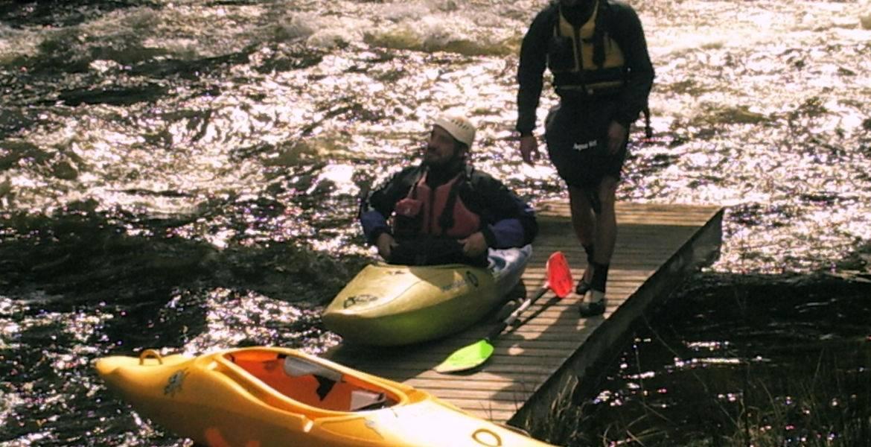 Kayak découverte dans les pyrénées (classe I et II)