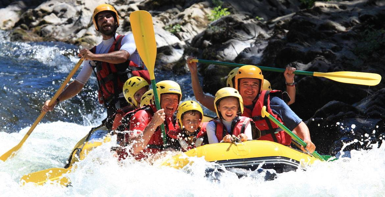 Rafting demi journée sur le Haut Gave d'Ossau - Parcours initiation