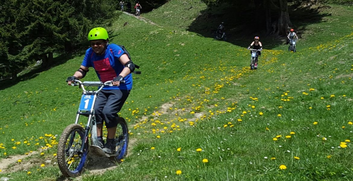 DOWNHILL SCOOTER DISCOVERY DESCENT