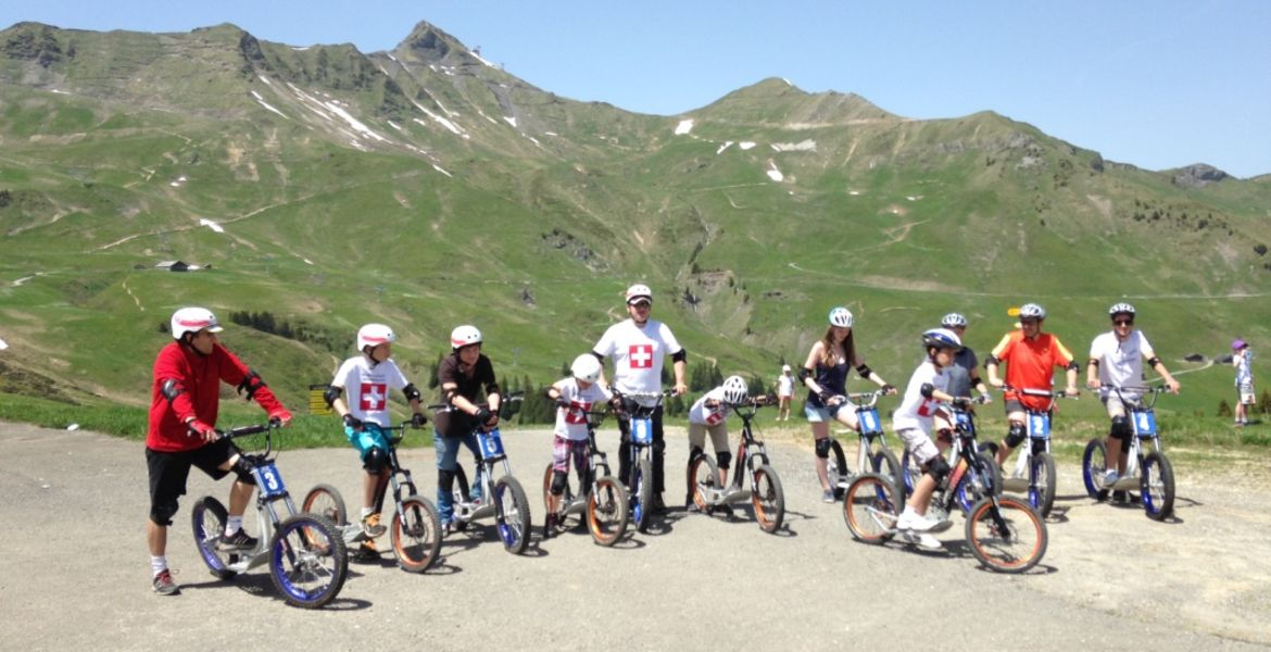 All mountain downhill scooter rental for groups from 8 people