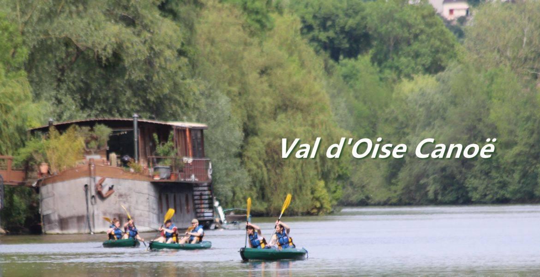 Canoë Kayak de l'Isle Adam à Auvers S/O accessible en Transilien!