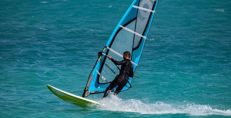 Private lesson windsurfing Cupabia