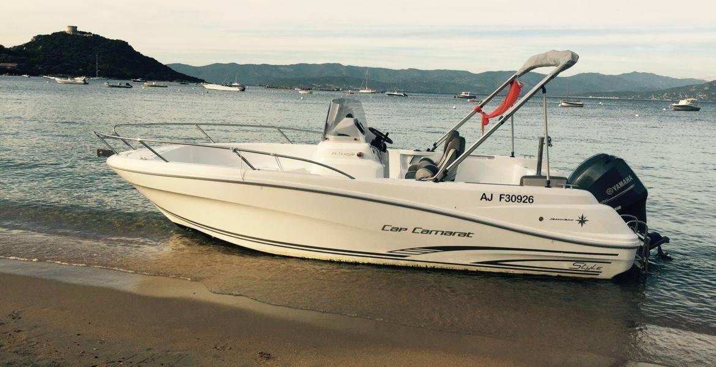 Noleggio barche con permesso a Campomoro