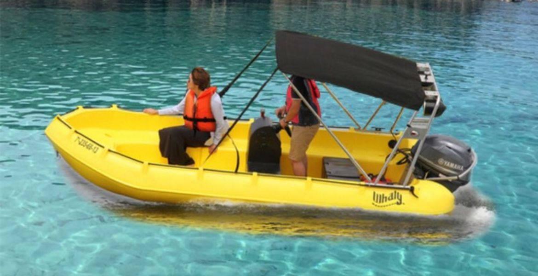 Noleggio barche senza patente nautica a Cupabia