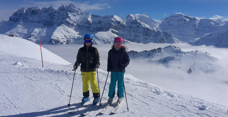 Cours privés ski à Châtel - Portes du Soleil - Haute Savoie - France