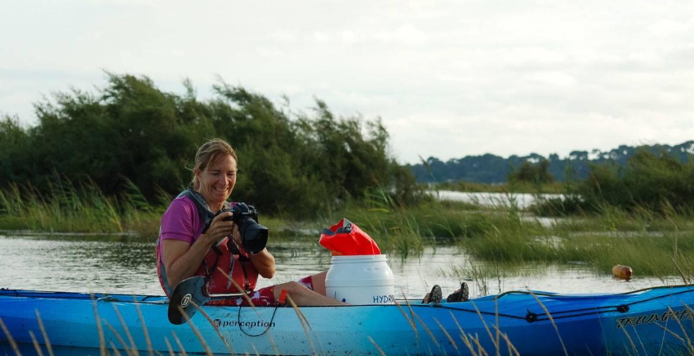 Balade photo  en kayak  Bassin d'Arcachon