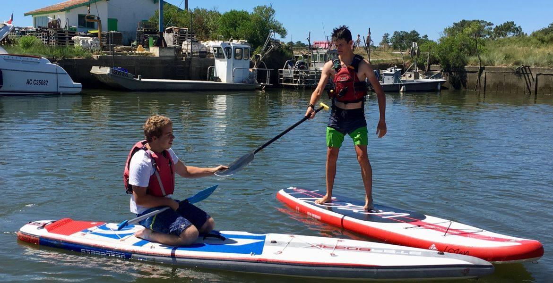 Paddle RDV du dimanche en saison estivale