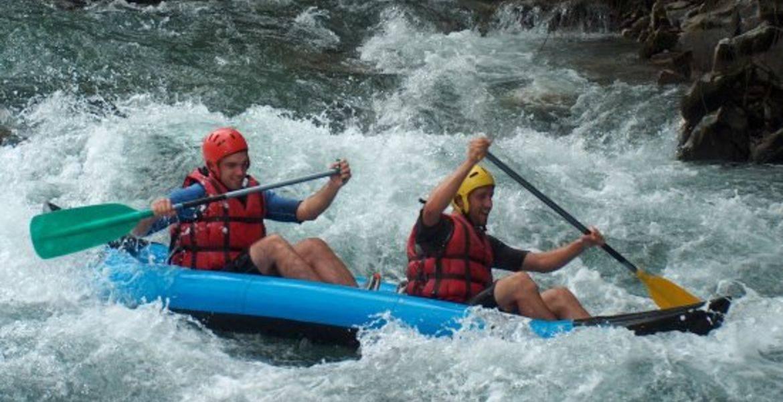 Descente en rafting sur la Gartempe Descente Hot Dog / Canoe Raft