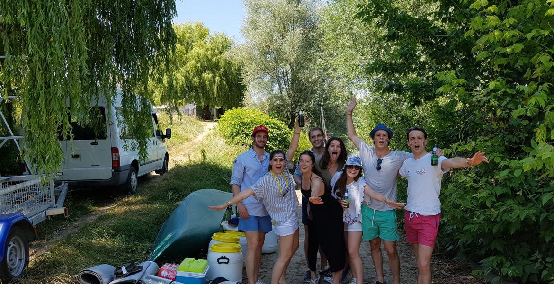 Randonnée en canoë depuis Marseille Les Aubigny  2 jours - (46 km)