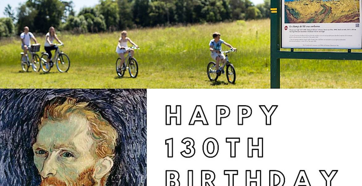 Van Gogh à Vélo HAPPY 130 TH BIRTHDAY