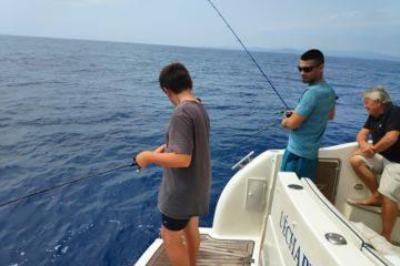 Soirée pêche aux calamars