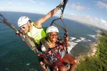 Guadeloupe tandem flights
