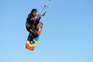 Coaching thématique en kitesurf à gruissan