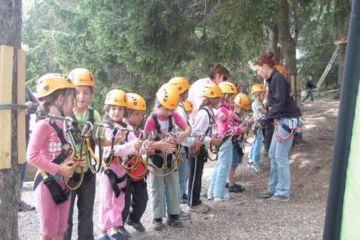 Accrobranche enfants dès 4 ans |bibi - parcours jaune