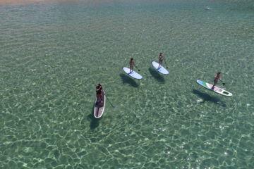 Sortie encadrées paddle