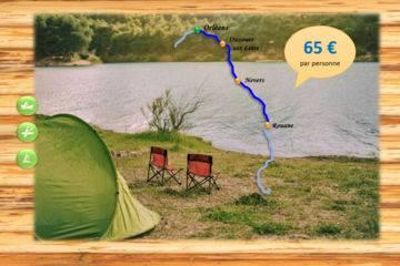 Bivouac 3 jours - ouzouer sur loire - 57 km
