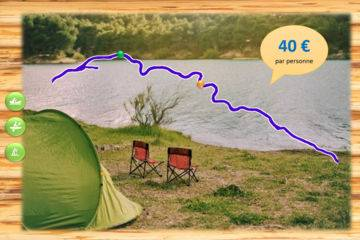 Bivouac découverte 1 nuit - saint benoit sur loire - 37 km - 1,5 jours