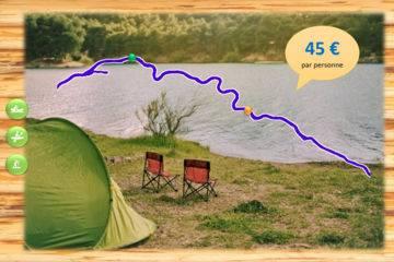 Bivouac découverte 1 nuit - sully sur loire - 45 km - 2 jours