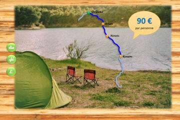 Bivouac 3-4 jours - briare - 75 km