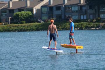 Préventes : surf électrique sur foil (e-foil)