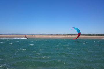 Navigation surveillée kite gruissan