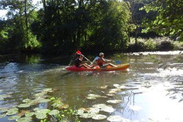 Balade en canoë kayak à taizé-aizie