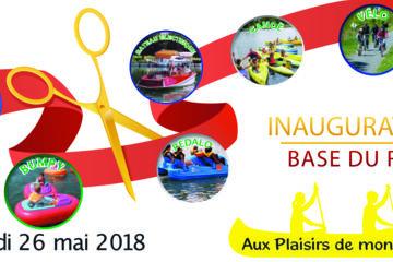 Inauguration samedi 26 mai 2018 de la base du roy à louviers