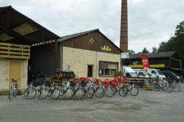 Location de vélos à la croix