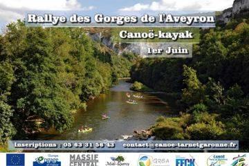 """Rallye des gorges de l'aveyron     """"1er juin 2019"""""""