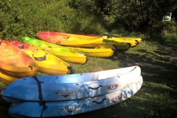 """Vente canoë-kayak d'occasion """"stock sur place"""""""