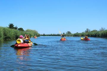 Journée en canoë sur le littoral catalan