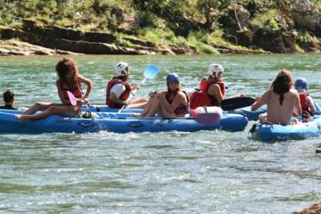 Randonnée 3 jours en canoë depuis prades jusque riviere sur tarn