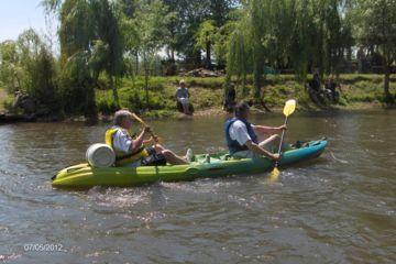 Location de canoë kayak journée aux portes de paris