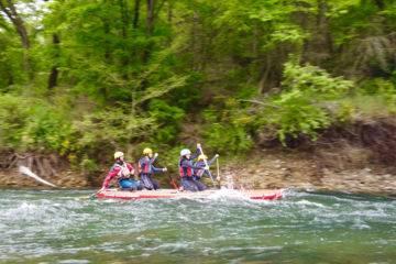 Paddle géant descentes de rivière