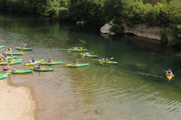 Descentes animées, canoë-kayak