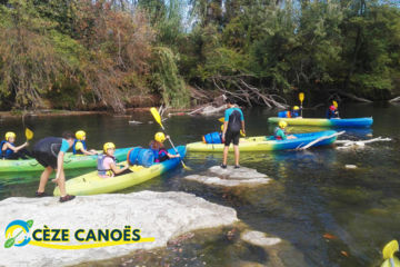 initiation and discovery canoe-kayak & stand-up paddle