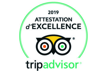 Attestation d'excellence trip advisor