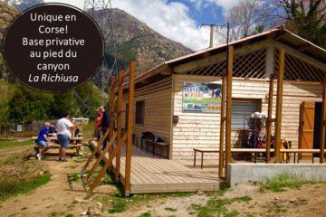 Base privative canyoning la richiusa